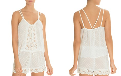 In Bloom by Jonquil Dot Chiffon & Lace Cami Set - Bloomingdale's_2