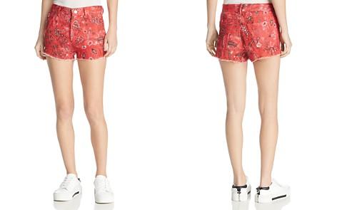 IRO.JEANS Omiandato Bandana Shorts - Bloomingdale's_2