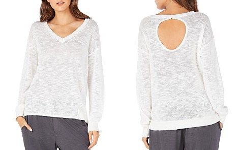 Michael Stars Lightweight Keyhole-Back Sweater - Bloomingdale's_2