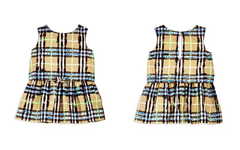 Burberry Girls' Mini Mabel Scribble Check Dress - Baby - Bloomingdale's_2