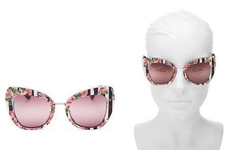 Dolce&Gabbana Cat Eye Sunglasses, 54mm - Bloomingdale's_2