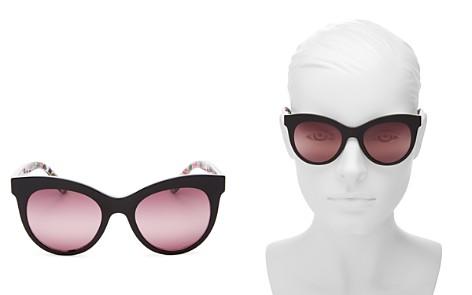 Dolce&Gabbana Women's Cat Eye Sunglasses, 50mm - Bloomingdale's_2