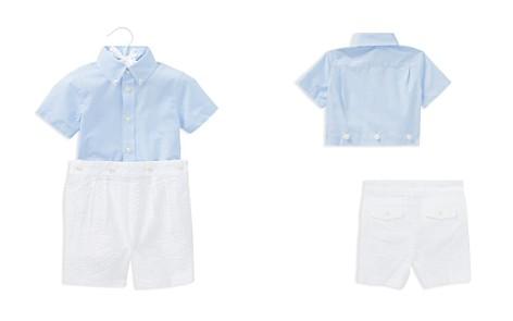 Ralph Lauren Boys' Poplin Shirt & Seersucker Shorts Set - Baby - Bloomingdale's_2