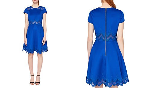 Ted Baker Rehanna Embroidered Skater Dress - Bloomingdale's_2