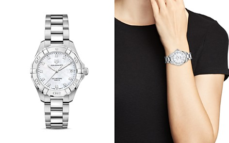 TAG Heuer Aquaracer Diamond Watch, 32mm - Bloomingdale's_2