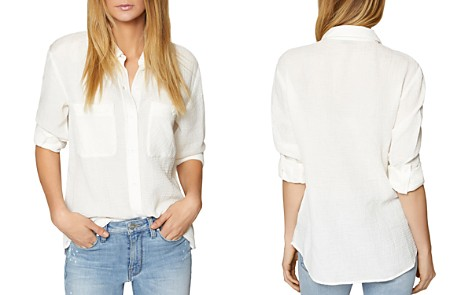 Sanctuary Steady Boyfriend Textured Shirt - Bloomingdale's_2
