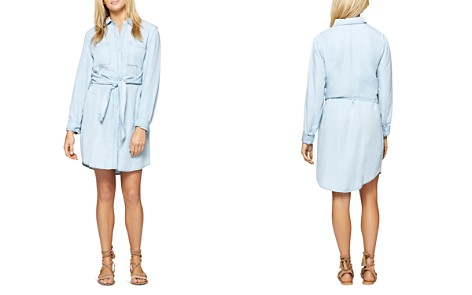 Sanctuary Tali Tie Waist Chambray Shirt Dress - 100% Exclusive - Bloomingdale's_2
