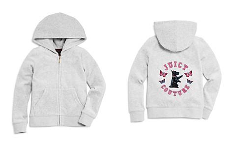Juicy Couture Black Label Girls' Velour Scottie Robertson Glitter Jacket - Big Kid - Bloomingdale's_2
