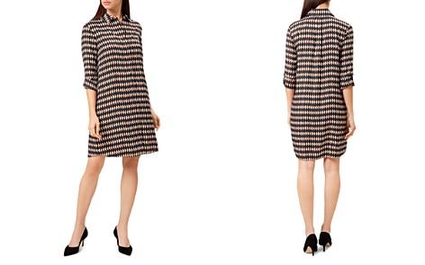HOBBS LONDON Marci Geometric Print Shirt Dress - Bloomingdale's_2