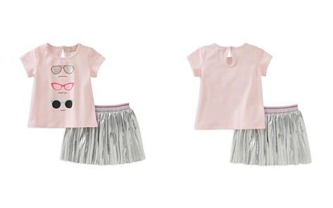 kate spade new york Girls' Sunglasses Tee & Pleated Metallic Skirt Set - Baby - Bloomingdale's_2