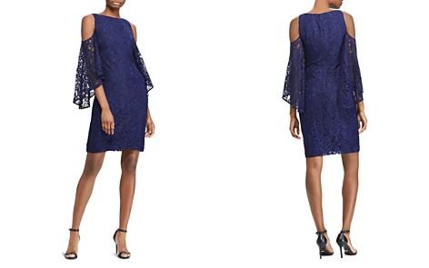 Lauren Ralph Lauren Cold-Shoulder Lace Dress - Bloomingdale's_2