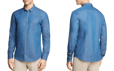 BOSS Orange Erum Regular Fit Button-Down Shirt - Bloomingdale's_2