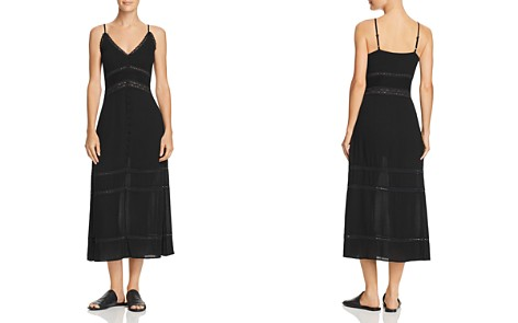 En Créme Lace-Inset Midi Dress - 100% Exclusive - Bloomingdale's_2