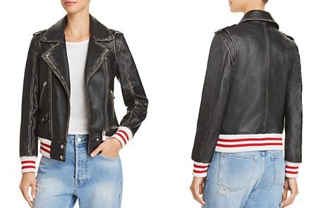 Anine Bing Quinlan Distressed Leather Moto Jacket - Bloomingdale's_2