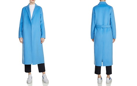 Maje Geode Long Wrap Coat - Bloomingdale's_2