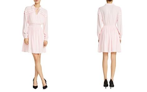 Maje Rubin Smocked Blouson Dress - Bloomingdale's_2