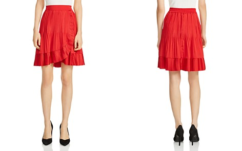 Maje Jonetta Ruffle-Trim Skirt - Bloomingdale's_2