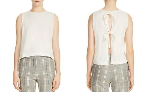 Maje Monia Sleeveless Tie-Back Sweater - Bloomingdale's_2
