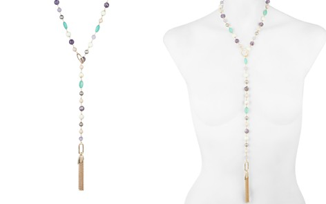 "Alexis Bittar Beaded Lariat Tassel Necklace, 40"" - Bloomingdale's_2"