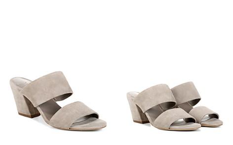 Vince Women's Benetta Suede Block Heel Slide Sandals - Bloomingdale's_2