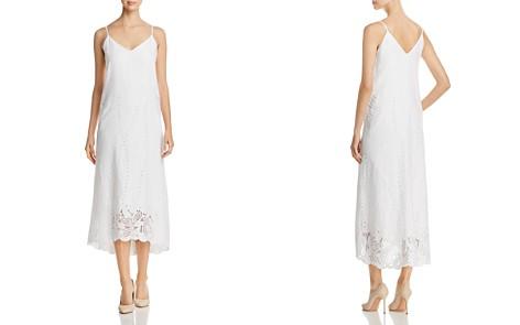 Lafayette 148 New York Dominique Linen Eyelet Midi Dress - Bloomingdale's_2