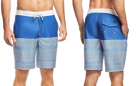 Johnnie-O Kickflip Striped Board Shorts - Bloomingdale's_2