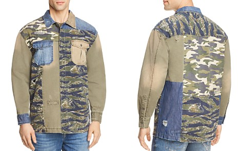 True Religion Patched Utility Button-Down Shirt - Bloomingdale's_2