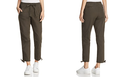 Kenneth Cole Twill Side-Seam-Drawstring Ankle Pants - Bloomingdale's_2