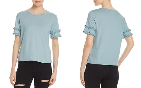 Michelle by Comune Rochelle Ruffle-Sleeve Tee - Bloomingdale's_2
