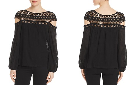 Bailey 44 Cotton To Cutout Top - Bloomingdale's_2