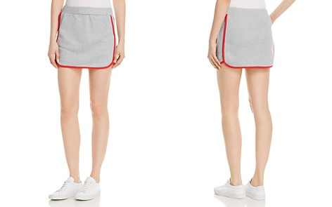 Honey Punch French Terry Mini Skirt - 100% Exclusive - Bloomingdale's_2