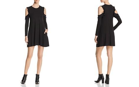 Elan Cold-Shoulder Ruffle Dress - Bloomingdale's_2