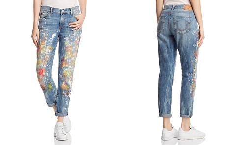 True Religion Cameron Boyfriend Jeans in Pop Art Paint - Bloomingdale's_2