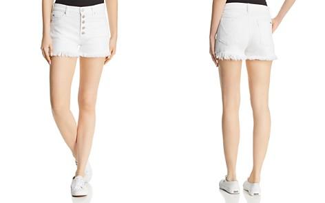 Hudson Zoeey High-Rise Denim Shorts in White - Bloomingdale's_2