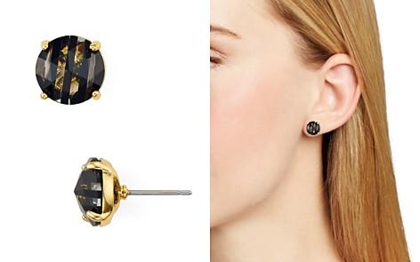 kate spade new york Striped Stud Earrings - Bloomingdale's_2