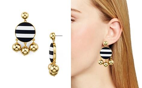 kate spade new york Striped Ball Drop Earrings - Bloomingdale's_2