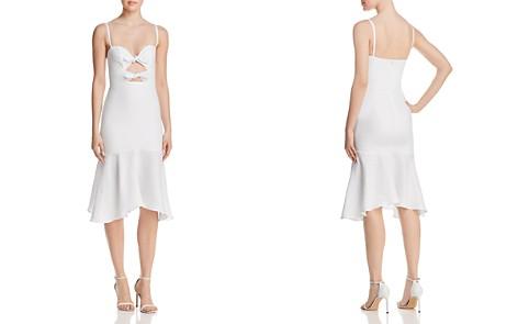 Karina Grimaldi Nelia Bow-Detail Cutout Midi Dress - Bloomingdale's_2