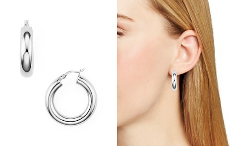 Argento Vivo Tube Hoop Earrings - Bloomingdale's_2