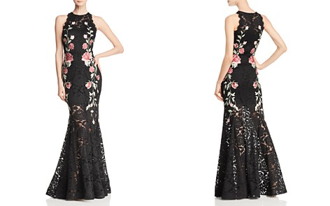 Avery G Embroidered Lace Gown - Bloomingdale's_2