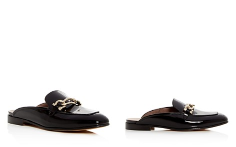 Salvatore Ferragamo Women's Girl Patent Leather Mules - Bloomingdale's_2