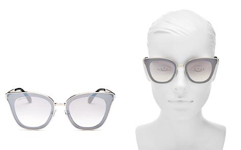 Jimmy Choo Lory Mirrored Cat Eye Sunglasses, 67mm - Bloomingdale's_2