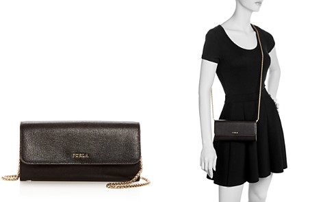 Furla Babylon XL Chain Leather Wallet - Bloomingdale's_2