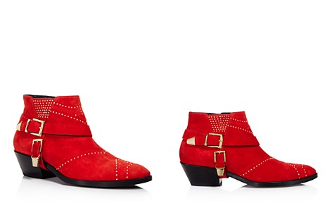 Anine Bing Women's Bianca Studded Suede Booties - 100% Exclusive - Bloomingdale's_2