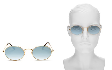 Ray-Ban Unisex Gradient Oval Sunglasses, 54mm - Bloomingdale's_2