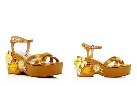 MARC JACOBS Women's Callie Embellished Satin Platform Wedge Sandals - Bloomingdale's_2