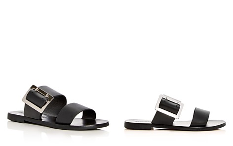 Sol Sana Women's April Leather Slide Sandals - Bloomingdale's_2