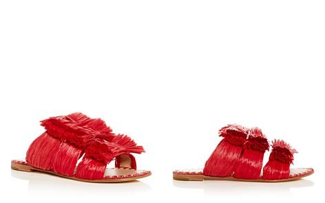 Pour La Victoire Layne Raffia Slide Sandals - Bloomingdale's_2