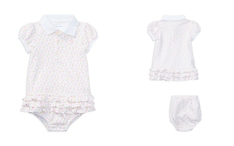 Ralph Lauren Girls' Ruffled Polo Dress & Bloomers Set - Baby - Bloomingdale's_2