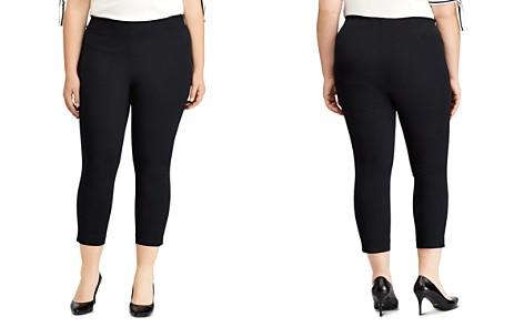 Lauren Ralph Lauren Plus Stretch Twill Skinny Crop Pants - Bloomingdale's_2