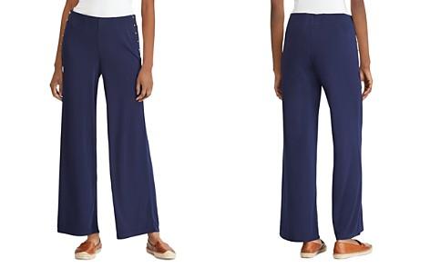 Lauren Ralph Lauren Stretch-Jersey Wide-Leg Pants - Bloomingdale's_2